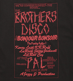 FLYER TEE BROTHERS DISCO
