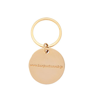 BB GOLD KEYCHAIN